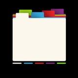 企业网站模板 免版税库存图片