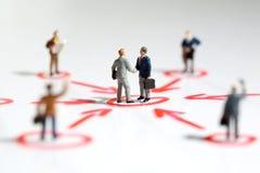 企业网络连接技术支持 免版税图库摄影