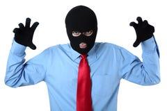 企业罪行 库存图片