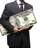 企业美元 免版税库存图片