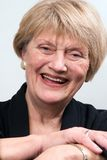 企业老妇人 免版税库存图片