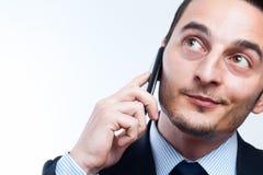 企业聊天 免版税库存照片