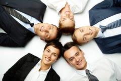 企业联盟 免版税库存图片