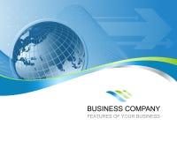 企业背景摘要 免版税库存图片