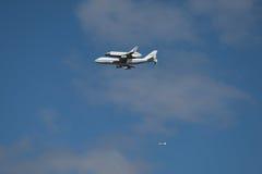 企业航天飞机空间 免版税库存照片