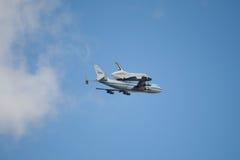 企业航天飞机空间 库存照片
