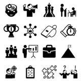 企业良师象和教练标志 向量例证