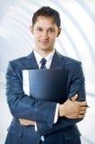 企业英俊的人年轻人 库存图片