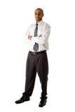 企业英俊的人身分 库存图片