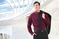 企业英俊的人 免版税库存图片