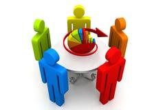 企业规划概念 免版税图库摄影