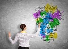 企业规划 图库摄影