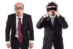 企业视域区别 库存图片