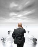 企业解决方法 库存照片