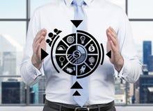 企业计划 免版税库存图片