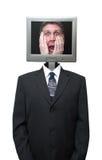 企业计算机互联网查出的technolgy 免版税库存照片