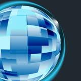 企业计算机网络视窗的概念 免版税库存图片
