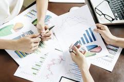 企业讨论 免版税库存照片