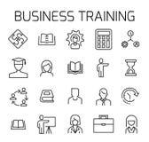 企业训练相关传染媒介象集合 向量例证