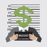 企业诉讼概念 免版税库存图片