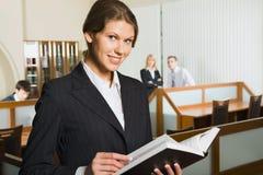 企业读取妇女 库存图片