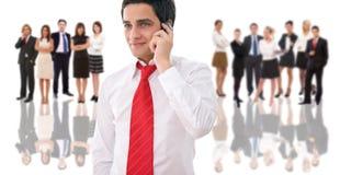 企业谈话 免版税库存照片