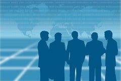 企业谈话 免版税图库摄影