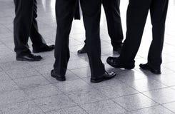 企业谈话 免版税库存图片