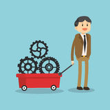 企业象设计 免版税图库摄影