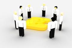 企业财务会议 皇族释放例证