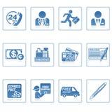 企业财务图标iii万维网 库存照片