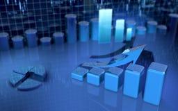 企业财务图象 免版税图库摄影