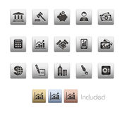 企业财务金属系列 免版税库存图片