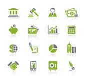 企业财务natura系列 库存例证