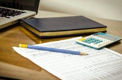 企业财政规划 免版税库存图片