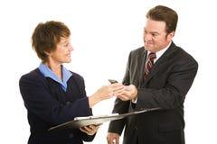 企业购买权您 免版税库存照片