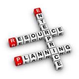 企业资源计划(ERP) 免版税库存图片