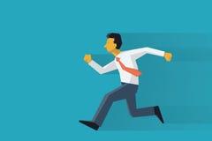 企业赛跑 免版税库存照片