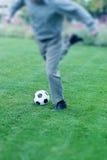 企业足球 库存照片