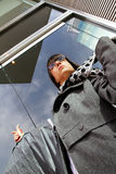 企业运载的布料妇女 免版税图库摄影