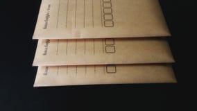 企业运输信封 库存图片