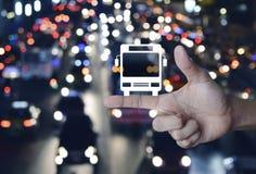 企业运输服务概念 免版税图库摄影