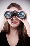 企业远见 免版税库存图片