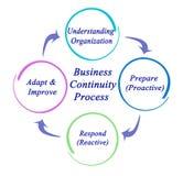 企业连续性过程 库存例证
