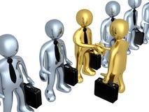 企业选择 向量例证