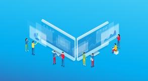 企业逻辑分析方法设计观念和事务合作工作的会议 库存图片