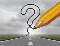 企业道路问题 免版税库存图片