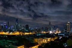 企业都市风景区域和现代大厦城市和transportat 库存图片