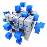 企业配合、互联网和通信概念 向量例证