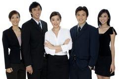 企业配合 免版税库存图片